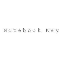 NotebookKey.com - Two Words